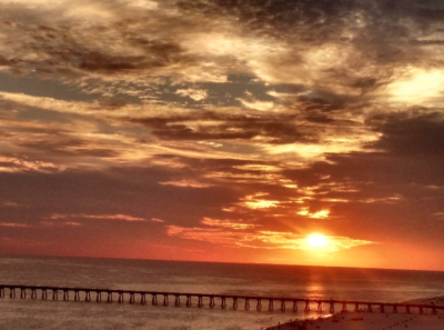 Gorgeous Sunset over Pensacola Beach